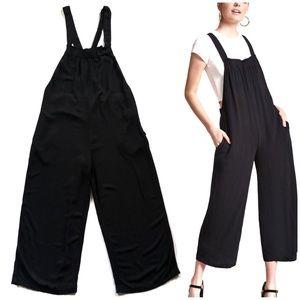 Forever21 Black Wide Leg Jumpsuit